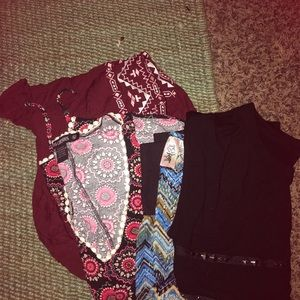 Women's lot of 4 sm/med blouses like new!